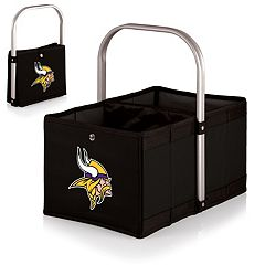 Picnic Time Minnesota Vikings Urban Folding Picnic Basket