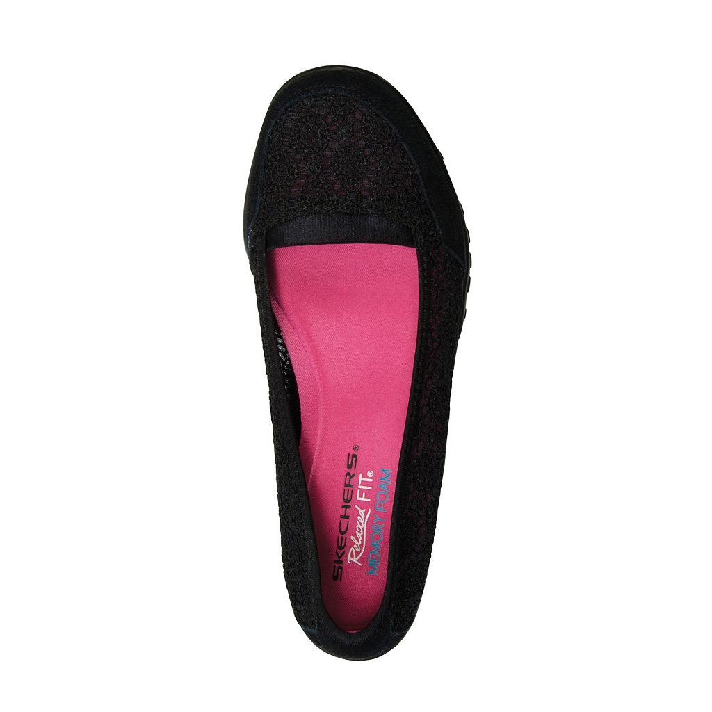 Skechers Relaxed Fit Breathe Easy Pretty Factor Women's Ballet Flats