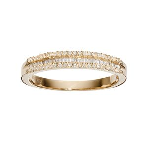 10k Gold 1/4 Carat T.W. Diamond Ring