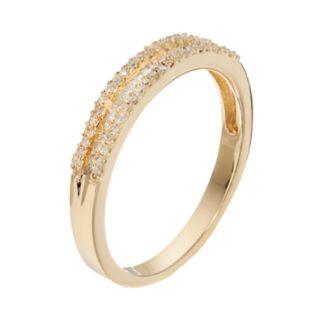 10k Gold 1/4 Carat T.W. Diamond Ring