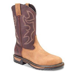 Rocky Original Ride Waterproof ... Branson Roper Men's Western Work Boots 4RHOwb