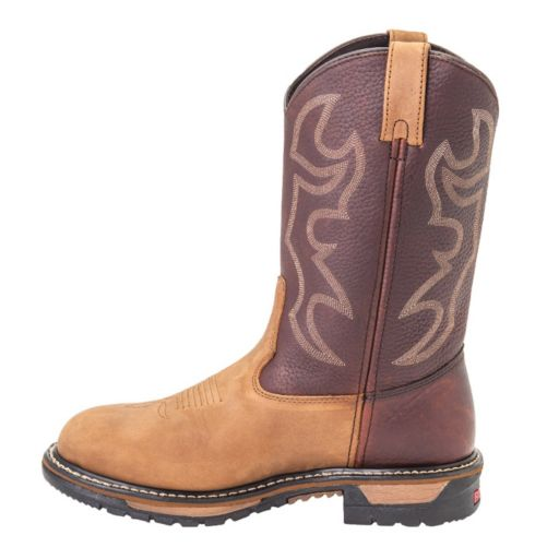 Rocky Original Ride Branson Roper Men's Western Work Boots