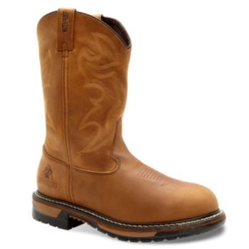 Rocky Original Ride Waterproof Branson Roper Men's Western Work Boots
