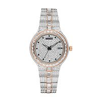 Croton Men's Balliamo Austrian Crystal Two Tone Watch - CN307540TTPV