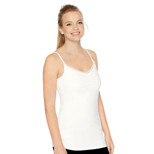 0245f9d88ed44 Maternity Oh Baby by Motherhood™ Lace-Trim Nursing Camisole
