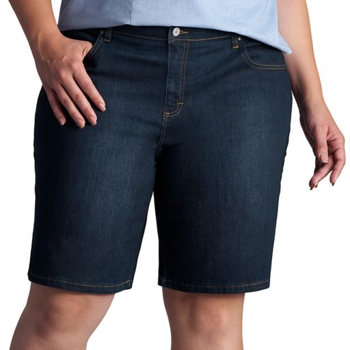 Plus Size Lee Relaxed Fit Bermuda Shorts