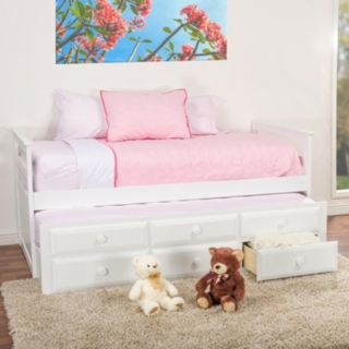 Baxton Studio Ballina Contemporary Trundle Bed - Twin