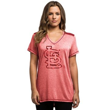Women's Majestic St. Louis Cardinals Bright Lights Tee