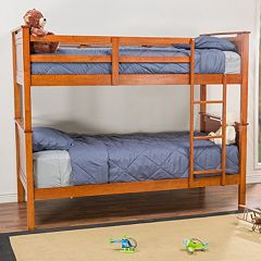 Baxton Studio Wexford Contemporary Bunk Bed  by