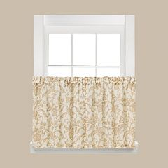 Saturday Knight, Ltd. 2-pack Melissa Tier Curtains - 58'' x 36''