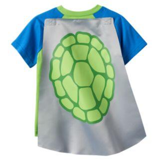 Toddler Boy Teenage Mutant Ninja Turtles Caped Tee