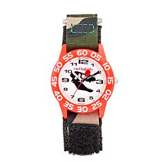 Red Balloon Dinosaur Skull Boys' Time Teacher Watch