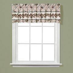 Saturday Knight, Ltd. Pinecone Plaid Window Valance - 58'' x 13''