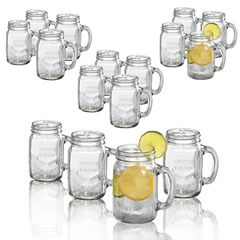 Artland 16 pc Mason Jar Mug Set