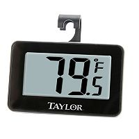 Taylor Digital Refrigerator / Freezer Thermometer