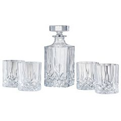 Artland Windsor 5 pc Whiskey Decanter Set
