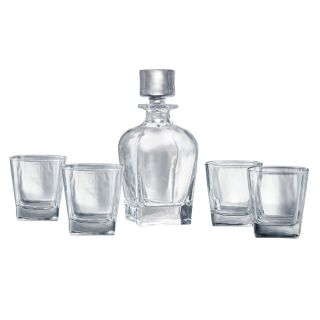 Artland Glacier 5-pc. Whiskey Decanter Set
