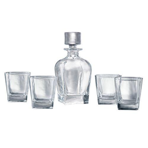 Artland Glacier 5-pc. Whiskey Decanter Set
