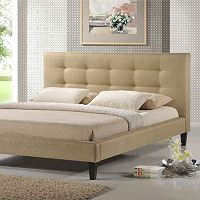 Baxton Studio Quincy Designer Bed