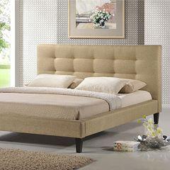Baxton Studio Quincy Designer Bed