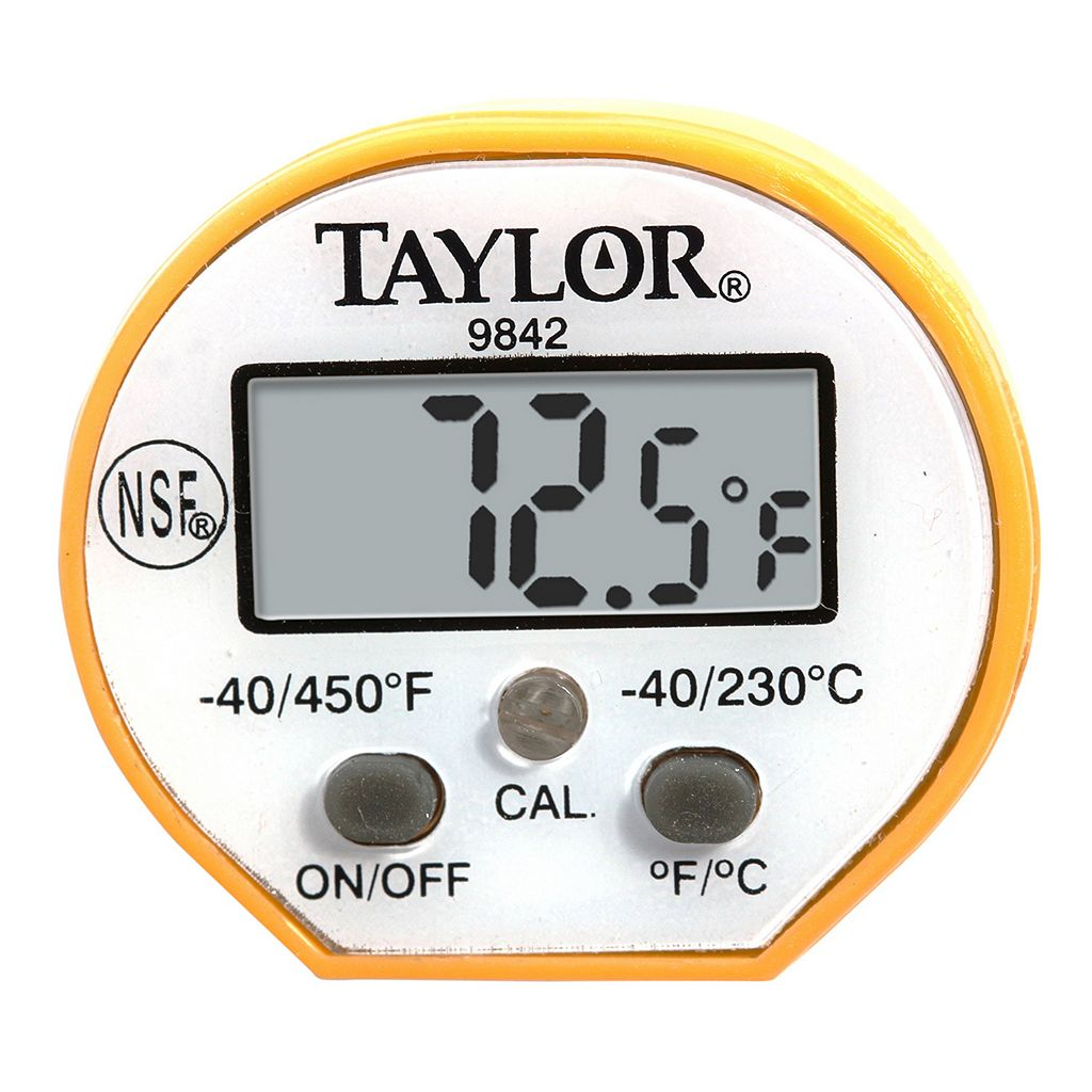 Taylor Anti-Microbial Instant Read Digital Thermometer