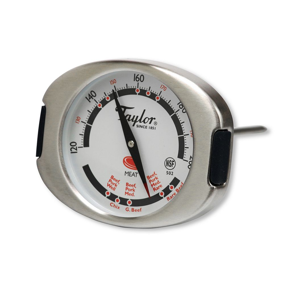 Taylor Connoisseur Leave-In Meat Thermometer
