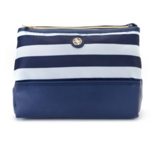 Adrienne Vittadini Studio Dual Cosmetic Travel Bag