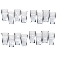 Artland 16-pc. Pub Glass Set