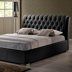 Baxton Studio Bianca Tufted Modern Full Bed
