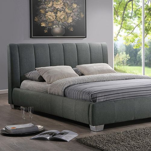 Baxton Studio Marzenia Contemporary Bed - Queen