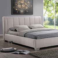 Baxton Studio Marzenia Contemporary Bed - Queen