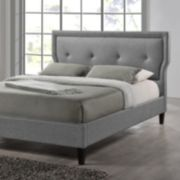 Baxton Studio Marquesa Wood Contemporary Bed