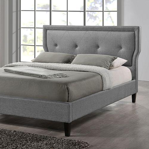 Baxton Studio Marquesa Wood Contemporary Bed