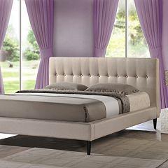 Baxton Studio Callasandra Contemporary Bed - Queen