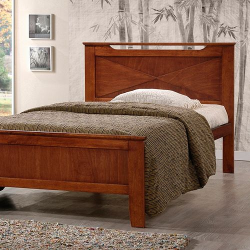 Baxton Studio Demitasse Contemporary Bed