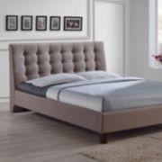 Baxton Studio Zeller Tufted Bed