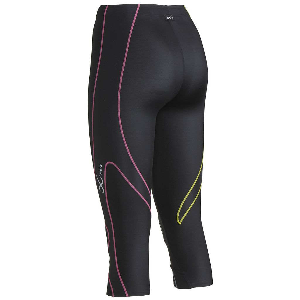 Women's CW-X Expert COOLMAX Compression Capri Running Tights