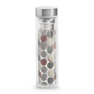 La Cafetiere 13-oz. Tea Infuser Glass Water Bottle