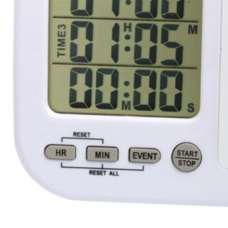 Taylor Multi-Event Timer with Whiteboard
