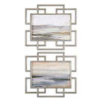 Gray Mist Wall Art 2-piece Set