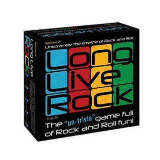 Long Live Rock Board Game by Aleken Games