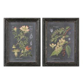 Midnight Botanicals Wall Art 2-piece Set