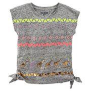 Girls 4-6x OshKosh B'gosh® Embellished Side-Tie Tee