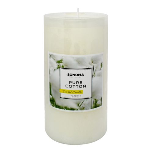 SONOMA Goods for Life™ 3″ x 6″ Pure Cotton Pillar Candle