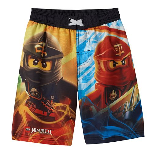 2c7635fd8a Boys 4-8 LEGO Ninjago Character Swim Trunks