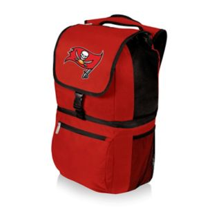 Picnic Time Tampa Bay Buccaneers Red Zuma Backpack Cooler