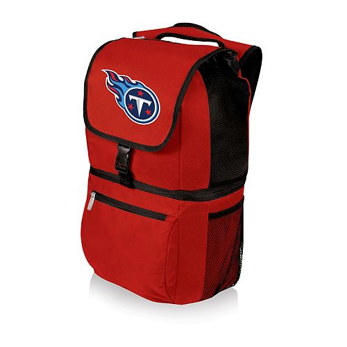 Picnic Time Tennessee Titans Red Zuma Backpack Cooler