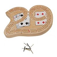 Large 29 Cribbage Game by John N. Hansen Co.