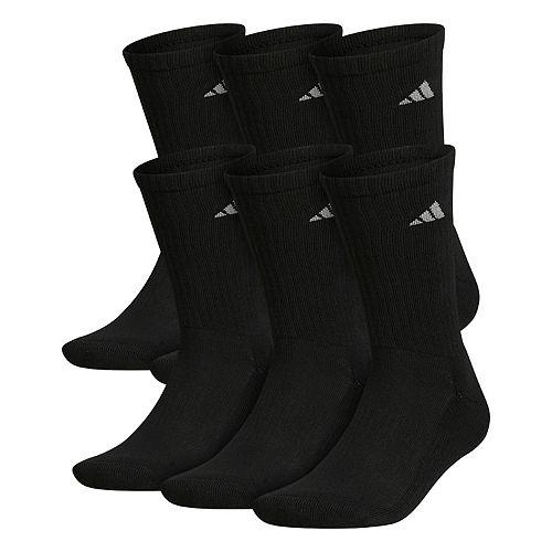 Big & Tall adidas 6-pack Crew Socks