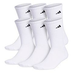 Big & Tall adidas 6-pack Crew Socks